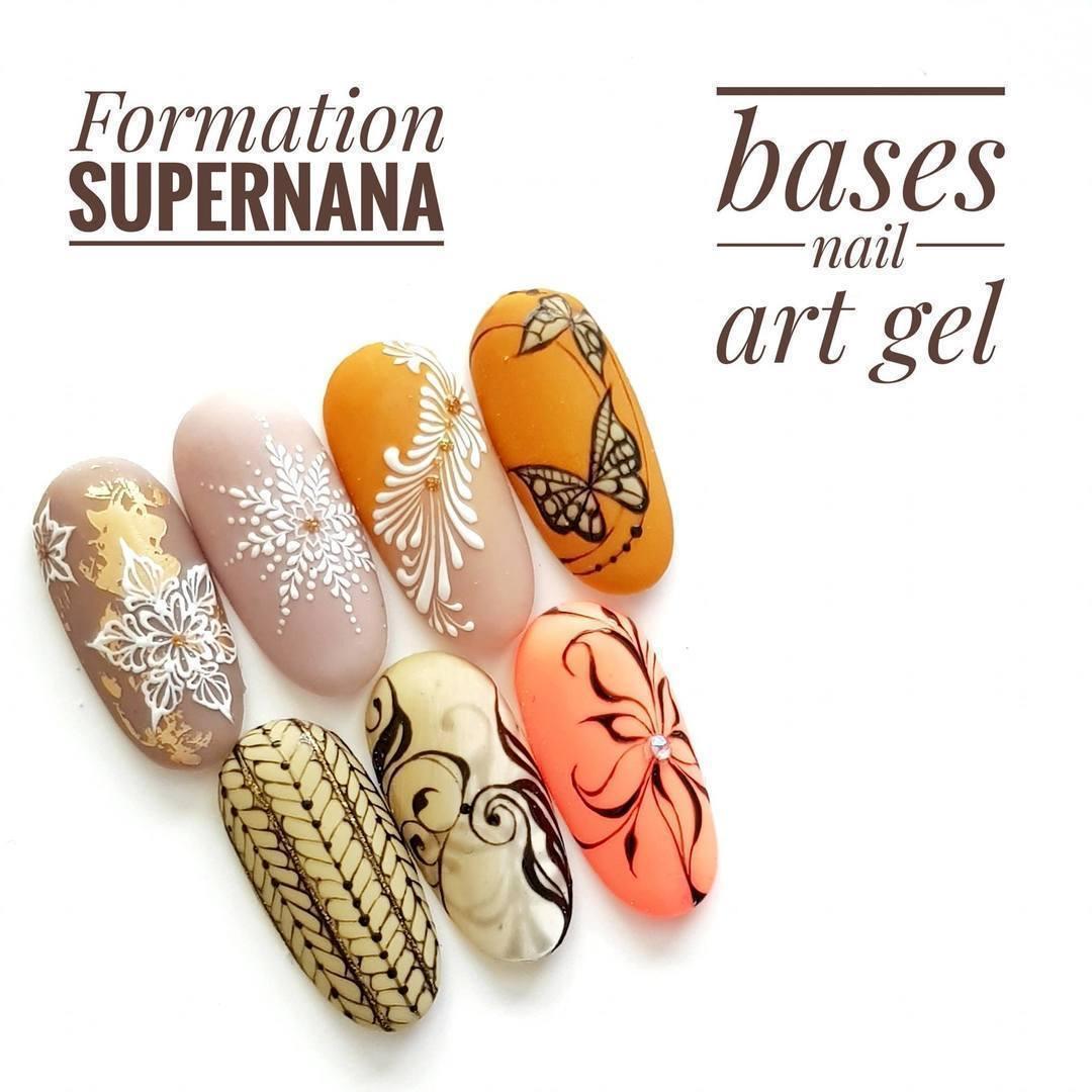 Formation Nail Art avec Supernana : lignes fines en gel